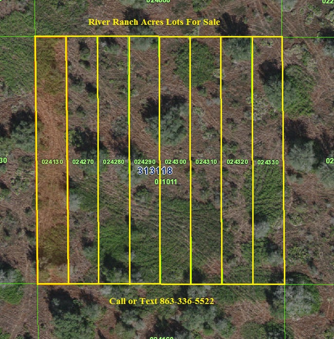 River Ranch Lots For Sale