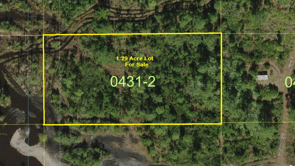 Suburban Estates Holopaw Florida camp lot for sale